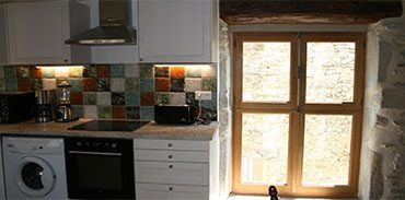cuisine - fenêtre sur calade